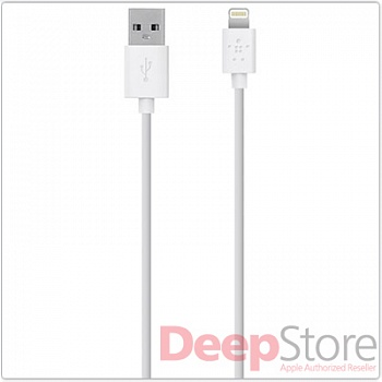 Кабель Belkin Lightning to USB Cable, белый (3.0 м)