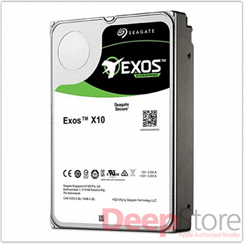 Жесткий диск HDD SAS Seagate 10000Gb (10Tb), ST10000NM0096, Exos X10, 7200 rpm, 256Mb buffer