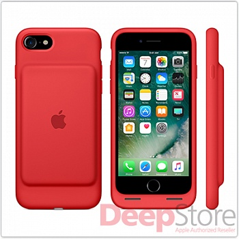 Чехол Smart Battery Case для iPhone 7, (PRODUCT)RED
