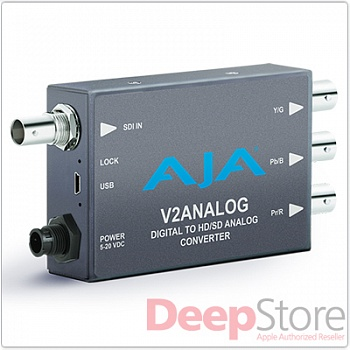 Конвертер HD/SD-SDI-сигнала в аналоговый AJA V2Analog