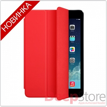 Apple iPad mini 3 Smart Cover, красный