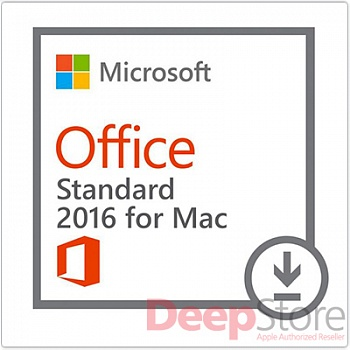 Право на использование (электронно) Microsoft Office Mac Standard 2016 Russian OLP NL Academic