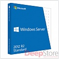 Право на использование (электронно) Microsoft Windows Server 2012 Standard R2 RUS OLP Acdmc 2Proc