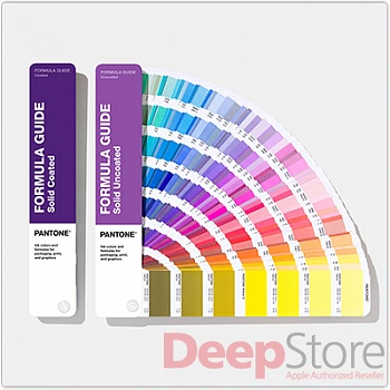 Цветовой справочник Pantone Formula Guide Solid Coated & Solid Uncoated 2020