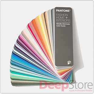 Цветовой справочник Pantone FHI Metallic Shimmers Color Guide