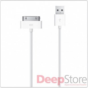 Адаптер-переходник Apple Dock Connector 30-pin to USB Cable