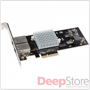 Сетевая карта Sonnet Presto 10GBASE-T Ethernet 2-Port PCIe Card