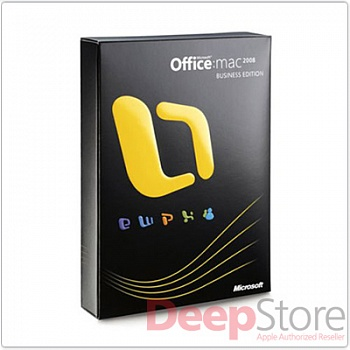 Microsoft Office Mac Business Edition 2008, английская версия