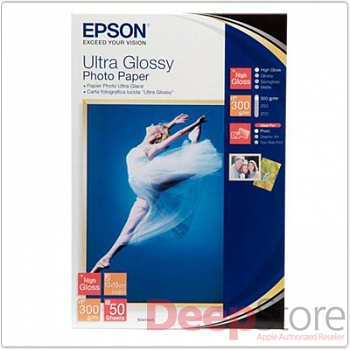 Фотобумага Epson Ultra Glossy Photo Paper, 10x15 см (50 листов)