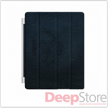 Дизайнерская версия Apple iPad Smart Cover от Дениса Симачева, синий