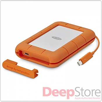 Внешний SSD LaCie Rugged Thunderbolt, 1 Тб (USB 3.1 / Thunderbolt)